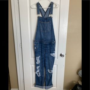 American Eagle Tomgirl overalls